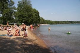 Badplats i Brevik