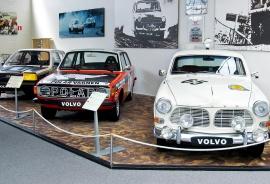 Upplev bilhistorien på Volvo Museum